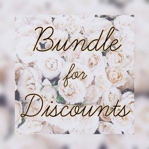 Bundle for discounts